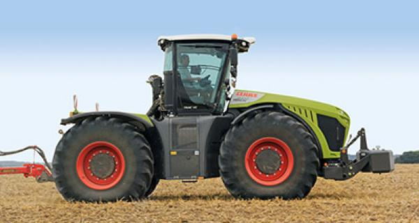 Claas Xerion 5000 - 4000 2015-